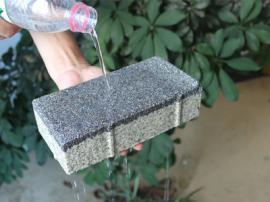 透水混凝土砖