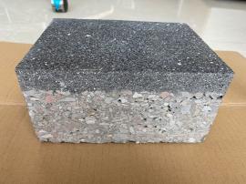 100mm厚芝麻黑PC砖